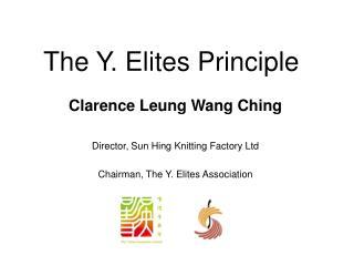 The Y. Elites Principle