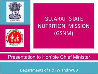 GUJARAT  STATE NUTRITION  MISSION (GSNM)