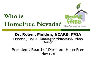Who is HomeFree Nevada?