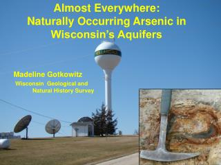 Almost Everywhere: Naturally Occurring Arsenic in Wisconsin's Aquifers