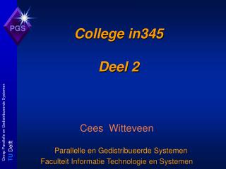 College in345 Deel 2