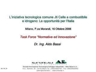 Dr. Ing. Aldo Bassi