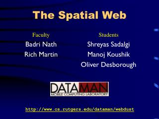 The Spatial Web