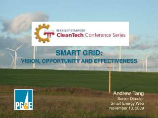 SMART GRID:  VISION, OPPORTUNITY AND EFFECTIVENESS
