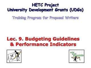 Lec. 9. Budgeting Guidelines & Performance Indicators