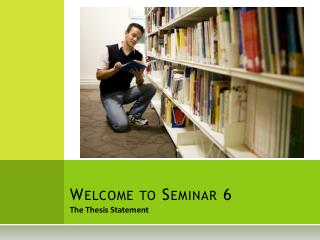 Welcome to Seminar 6