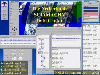 The Netherlands  SCIAMACHY Data Center