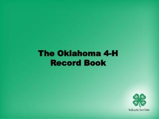 The Oklahoma 4-H  Record Book