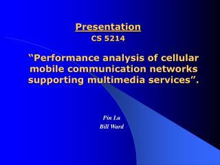 Presentation CS 5214