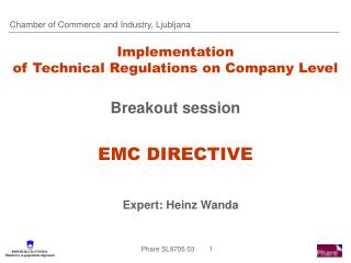 Implementation  of Technical Regulations on Company Level