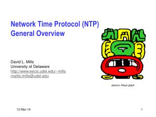 Network Time Protocol (NTP) General Overview