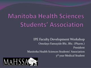 Manitoba Health Sciences Students' Association
