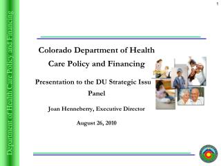 Colorado Department of Health Care Policy and Financing