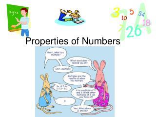 Properties of Numbers