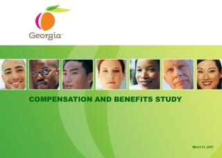 COMPENSATION AND BENEFITS STUDY