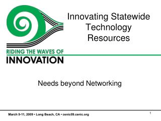 Innovating Statewide Technology Resources
