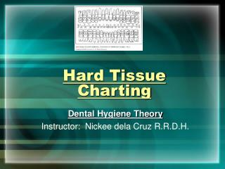 Hard Tissue Charting