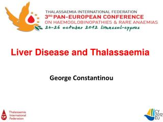 Liver Disease and Thalassaemia