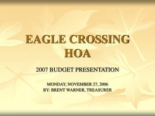 EAGLE CROSSING HOA