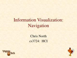 Information Visualization: Navigation