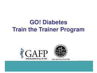 GO! Diabetes Train the Trainer Program