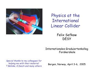 Physics at the  International  Linear Collider