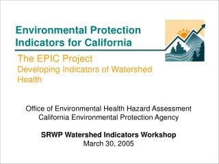 Environmental Protection Indicators for California