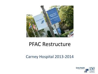 PFAC Restructure
