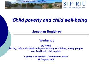 Child poverty and child well-being