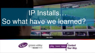 IP Based Security System Technology