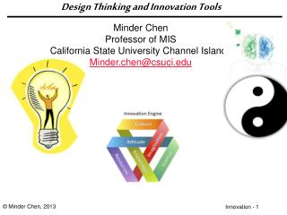 Design Thinking and Innovation Tools