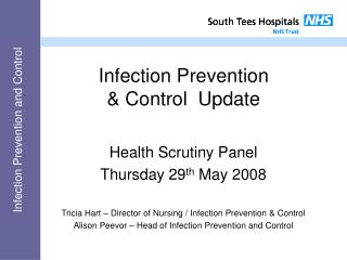 Infection Prevention  & Control  Update