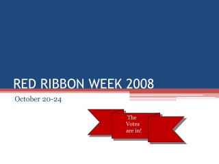 RED RIBBON WEEK 2008