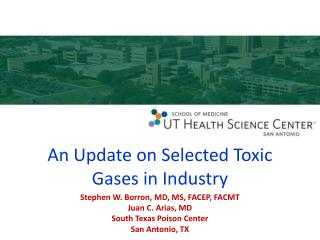 An Update on Selected Toxic Gases in Industry