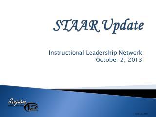 STAAR Update