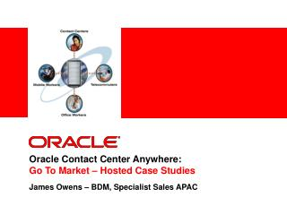 Oracle Contact Center Anywhere:  Go To Market – Hosted Case Studies