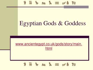 Egyptian Gods & Goddess