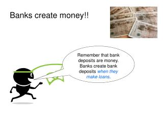 Banks create money!!