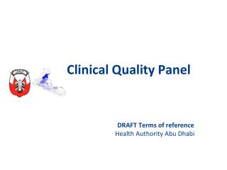 Clinical Quality Panel