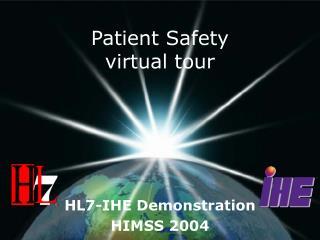 Patient Safety virtual tour