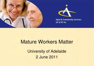 Mature Workers Matter