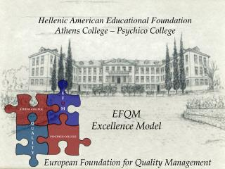 Hellenic American Educational Foundation Athens College – Psychico College 	EFQM 	Excellence Model