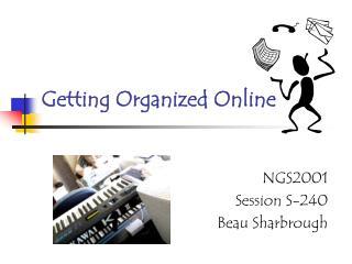 Getting Organized Online
