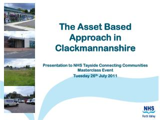 The Asset Based Approach in Clackmannanshire