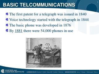 BASIC TELCOMMUNICATIONS
