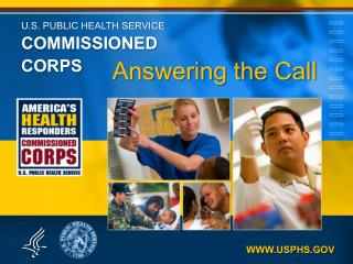U.S. PUBLIC HEALTH SERVICE COMMISSIONED CORPS