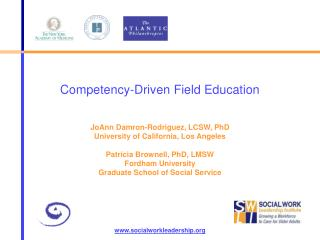 Competency-Driven Field Education