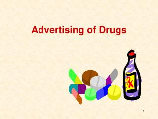 Advertising of Drugs