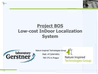 Project BOS Low-cost InDoor Localization System