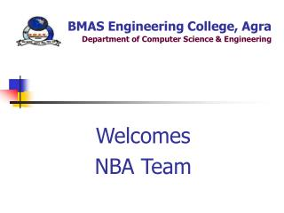BMAS Engineering College, Agra Department of Computer Science & Engineering